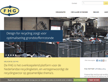 Tablet Preview of fhg-recycling.nl